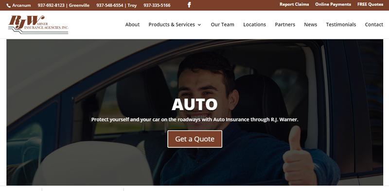 RJ Warner Launches New Website